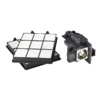 Sony LMP-F271 - Projector lamp and filter - UHP - 275 Watt - 2000 hour(s) (standard mode) / 3000 hour(s) (economic mode) - for VPL-FH300L, FW300L