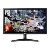 """LG UltraGear 24GL600F - LED monitor - 24"""" (23.6"""" viewable) - 1920 x 1080 Full HD (1080p) - TN - 300 cd/m² - 1000:1 - 1 ms - 2xHDMI, DisplayPort"""