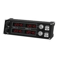 Logitech Flight Radio Panel - Flight simulator instrument panel - wired - for PC