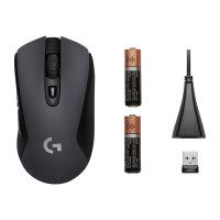 Logitech G603 - Mouse - optical - 6 buttons - wireless - Bluetooth, LIGHTSPEED - USB wireless receiver