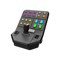 Logitech Heavy Equipment Side Panel - Flight simulator controller - wired - for PC