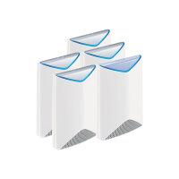 NETGEAR Orbi Pro SRK60 - Wi-Fi system (router, 4 extenders) - up to 12,500 sq.ft - GigE - 802.11a/b/g/n/ac - Tri-Band - wall-mountable, ceiling-mountable