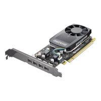 NVIDIA Quadro P620 - Graphics card - Quadro P620 - 2 GB GDDR5 - 4 x Mini DisplayPort - for ThinkStation P320; P330; P520; P520c; P720; P920