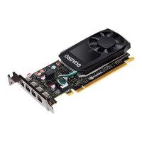 NVIDIA Quadro P620 - Graphics card - Quadro P620 - 2 GB GDDR5 - PCIe 3.0 x16 - 4 x Mini DisplayPort - for ThinkSystem SR250; SR630; SR650; ST250; ST50; ST550