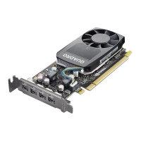 NVIDIA Quadro P620 - Graphics card - Quadro P620 - 2 GB GDDR5 low profile - 4 x Mini DisplayPort - for ThinkStation P320 30BJ, 30BK, 30BS; P330 30C7, 30C8, 30CA