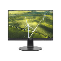 "Philips B Line 241B7QGJEB - LED monitor - 24"" (23.8"" viewable) - 1920 x 1080 Full HD (1080p) - IPS - 1000:1 - 5 ms - HDMI, DVI-D, VGA, DisplayPort - speakers - black texture"