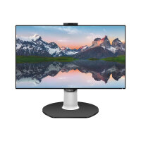 """Philips P-line 329P9H - LED monitor with network adapter - 1 ports - 32"""" (31.5"""" viewable) - 3840 x 2160 4K - IPS - 350 cd/m² - 1300:1 - 5 ms - 2xHDMI, DisplayPort, USB-C - speakers - black texture"""