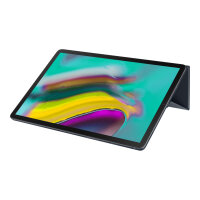 Samsung Book Cover EF-BT720 - Flip cover for tablet - black - for Galaxy Tab S5e