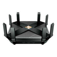 TP-Link Archer AX6000 - Wireless router - 8-port switch - GigE, 2.5 GigE, 802.11ax - 802.11a/b/g/n/ac/ax - Dual Band
