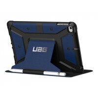 UAG Rugged Case for iPad Mini (2019) & iPad Mini 4 - Metropolis Cobalt - Flip cover for tablet - composite - cobalt - for Apple iPad mini 4; 5