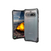 UAG Rugged Case for Samsung Galaxy S10 [6.1-inch screen] - Plyo Ice - Back cover for mobile phone - ice - for Samsung Galaxy S10