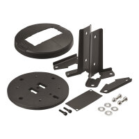 Vogel's Universal Series PUC 1910 - Mounting component (ceiling plate) for video wall - stainless steel - black