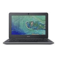 """Acer Chromebook 11 C732-C2FB - Celeron N3350 / 1.1 GHz - Chrome OS - 4 GB RAM - 32 GB eMMC - 11.6"""" 1366 x 768 (HD) - HD Graphics 500 - Wi-Fi, Bluetooth - obsidian black - kbd: UK"""