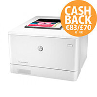 HP Color LaserJet Pro M454dn - Printer - colour - Duplex - laser - A4/Legal - 38400 x 600 dpi - up to 27 ppm (mono) / up to 27 ppm (colour) - capacity: 300 sheets - USB 2.0, Gigabit LAN, USB host