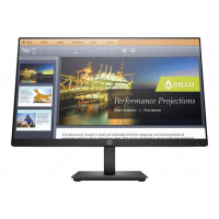 "HP P224 - LED monitor - 21.5"" (21.5"" viewable) - 1920 x 1080 Full HD (1080p) - VA - 250 cd/m² - 2000:1 - 5 ms - HDMI, VGA, DisplayPort - black"