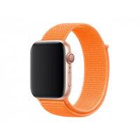 Apple 44mm Sport Loop - Watch strap - Regular (fits wrists 145 -220 mm) - papaya - demo