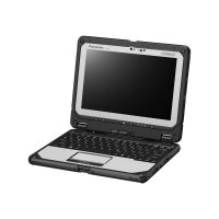 """Panasonic Toughbook 20 - Tablet - with keyboard dock - Core i5 7Y57 / 1.2 GHz - Win 10 Pro - 8 GB RAM - 256 GB SSD - 10.1"""" IPS touchscreen 1920 x 1200 - HD Graphics 615 - Wi-Fi, Bluetooth - rugged"""