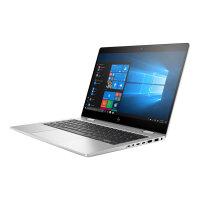 """HP EliteBook x360 830 G6 - Flip design - Core i5 8265U / 1.6 GHz - Win 10 Pro 64-bit - 8 GB RAM - 256 GB SSD NVMe, TLC, HP Value - 13.3"""" IPS touchscreen 1920 x 1080 (Full HD) - UHD Graphics 620 - NFC, Bluetooth, Wi-Fi - kbd: UK"""
