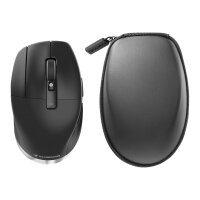 3Dconnexion CadMouse Pro Wireless Left - Mouse - ergonomic - left-handed - 7 buttons - wireless - Bluetooth, 2.4 GHz - USB wireless receiver