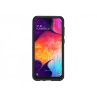 OtterBox Commuter Series Lite - Back cover for mobile phone - polycarbonate, synthetic rubber - black - for Samsung Galaxy A50