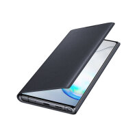 Samsung LED View Cover EF-NN975 - Flip cover for mobile phone - black - for Galaxy Note10+, Note10+ 5G