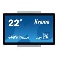 "iiyama ProLite TF2215MC-B2 - LED monitor - 22"" (21.5"" viewable) - open frame - touchscreen - 1920 x 1080 Full HD (1080p) - IPS - 350 cd/m² - 1000:1 - 14 ms - HDMI, VGA, DisplayPort - black"