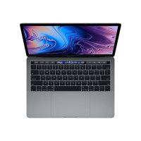 "Apple MacBook Pro with Touch Bar - Core i5 1.4 GHz - macOS Catalina 10.15 - 8 GB RAM - 256 GB SSD - 13.3"" IPS 2560 x 1600 (WQXGA) - Iris Plus Graphics 645 - Wi-Fi, Bluetooth - space grey - kbd: UK"
