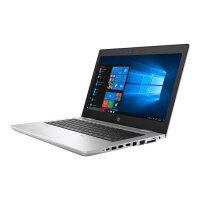 """HP ProBook 640 G5 - Core i5 8265U / 1.6 GHz - Win 10 Pro 64-bit - 8 GB RAM - 256 GB SSD NVMe, HP Value - 14"""" IPS 1920 x 1080 (Full HD) - UHD Graphics 620 - Bluetooth, Wi-Fi - natural silver - kbd: UK"""