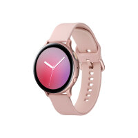 "Samsung Galaxy Watch Active 2 - 44 mm - pink gold aluminium - smart watch with band - fluoroelastomer - pink gold - display 1.4"" - 4 GB - Wi-Fi, NFC, Bluetooth - 30 g"