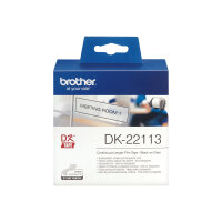 Brother DK-22113 - Clear - Roll (6.2 cm x 15.2 m) film - for Brother QL-1050, 1060, 500, 550, 560, 570, 580, 600, 650, 700, 710, 720, 820