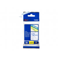 Brother TZe-233 - Blue on white - Roll (1.2 cm x 8 m) 1 roll(s) laminated tape - for Brother PT-D210, D600, H110, P750, P950; P-Touch Cube PT-P300; P-Touch Cube Pro PT-P910