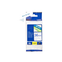 Brother TZe-263 - Blue on white - Roll (3.6 cm x 8 m) 1 roll(s) laminated tape - for Brother PT-H110; P-Touch PT-3600, 550, 9500, 9600, 9700, 9800, D800, H110, P900, P950