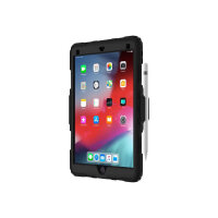 Griffin Survivor All-Terrain - Protective case for tablet - rugged - silicone, polycarbonate - black, clear - for Apple 10.5-inch iPad Air (3rd generation)