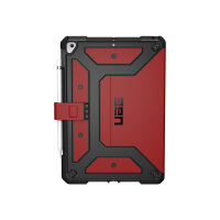 """UAG Rugged Case for iPad 10.2-in (7/8 Gen, 2019/2020) - Metropolis Magma - Back cover for tablet - polyurethane, thermoplastic polyurethane (TPU) - magma - 10.2"""" - for Apple 10.2-inch iPad (7th generation, 8th generation)"""
