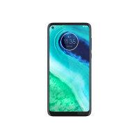"Motorola Moto G8 - Smartphone - dual-SIM - 4G LTE - 64 GB - microSD slot - GSM - 6.4"" - 1560 x 720 pixels (269 ppi) - IPS - RAM 4 GB (8 MP front camera) - 3x rear cameras - Android - neon blue"