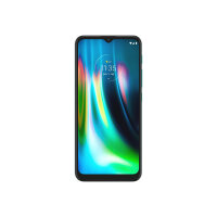 """Motorola Moto G9 Play - Smartphone - dual-SIM - 4G LTE - 64 GB - microSD slot - GSM - 6.5"""" - 1600 x 720 pixels (269 ppi) - IPS - RAM 4 GB (8 MP front camera) - 3x rear cameras - Android - forest green"""