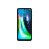 "Motorola Moto G9 Play - Smartphone - dual-SIM - 4G LTE - 64 GB - microSD slot - GSM - 6.5"" - 1600 x 720 pixels (269 ppi) - IPS - RAM 4 GB (8 MP front camera) - 3x rear cameras - Android - sapphire blue"