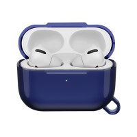 OtterBox Ispra Series - Case for wireless earphones - polycarbonate, zinc alloy, thermoplastic elastomer (TPE) - spacesuit blue - for Apple AirPods Pro