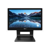 "Philips B Line 162B9T - LED monitor - 16"" (15.6"" viewable) - touchscreen - 1366 x 768 @ 60 Hz - TN - 220 cd/m² - 500:1 - 4 ms - HDMI, DVI, DisplayPort, VGA - speakers - black texture"