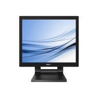 "Philips B Line 172B9T - LED monitor - 17"" - touchscreen - 1280 x 1024 @ 60 Hz - TN - 250 cd/m² - 1000:1 - 1 ms - HDMI, DVI, DisplayPort, VGA - speakers - black texture"