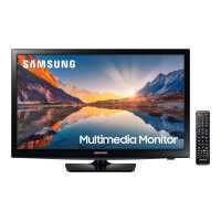 "Samsung S24R39MHAU - SR39M Series - LED monitor with TV tuner - 24"" (23.6"" viewable) - 1366 x 768 @ 60 Hz - VA - 250 cd/m² - 3000:1 - 8 ms - 2xHDMI - speakers - black"