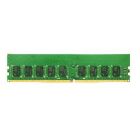Synology - DDR4 - 8 GB - DIMM 288-pin - 2666 MHz / PC4-21300 - 1.2 V - unbuffered - ECC - for RackStation RS1619xs+, RS3617RPxs, RS3617xs+, RS3618XS, RS4017XS+