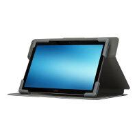 "Targus Safe Fit Universal 360° Rotating - Flip cover for tablet - polyurethane - blue - 9"" - 10.5"""