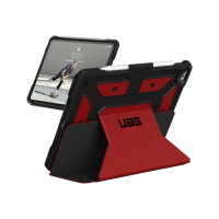 """UAG Rugged Case for iPad Pro 12.9 (4th Gen, 2020) - Metropolis Magma - Flip cover for tablet - rugged - polyurethane, thermoplastic polyurethane (TPU) - magma - 12.9"""" - for Apple 12.9-inch iPad Pro (4th generation)"""