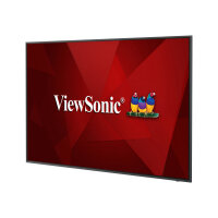 "ViewSonic CDE6520 - 65"" Diagonal Class (65"" viewable) LED display - digital signage - 4K UHD (2160p) 3840 x 2160 - D-LED Backlight"