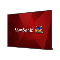 "ViewSonic cde7520 - 75"" Diagonal Class (75"" viewable) LED display - digital signage - 4K UHD (2160p) 3840 x 2160 - D-LED Backlight"