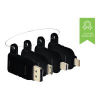 VISION Professional - Video / audio / data cable kit - DisplayPort / HDMI / USB - black
