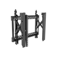"Vision VFM-VW6X4 - Wall mount for LCD display - lockable - steel - black - screen size: 45""-70"""
