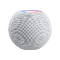 Apple HomePod Mini - Smart Speaker - Portable, Outdoor, Wi-Fi, Bluetooth - App-Controlled - Loud, Crisp Sound - Apple and Android Compatible - White