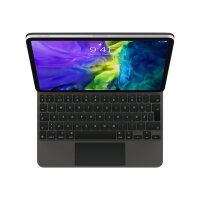 Apple Magic Keyboard - Keyboard and folio case - with trackpad - backlit - Apple Smart connector - for 10.9-inch iPad Air (4th generation); 11-inch iPad Pro (1st generation, 2nd generation)